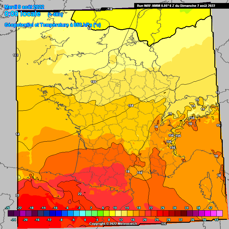 carte sonage wrf
