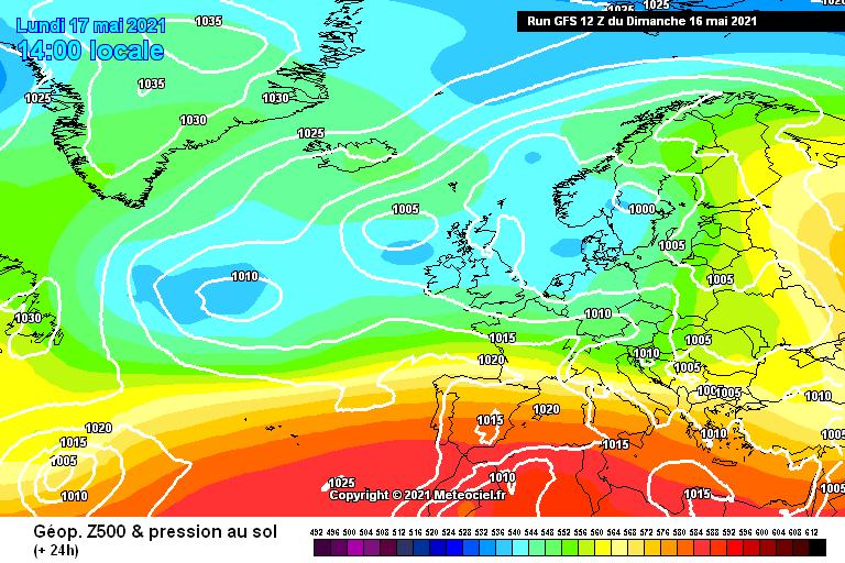 Nuova settimana nuova instabilità - Modello GFS